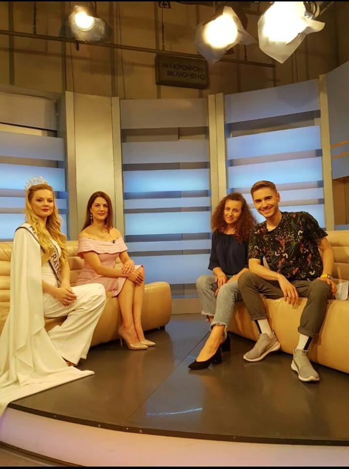 Mrs. Ukraine International | Kyiv morning – Iana Lutskaia and Olena Boyko